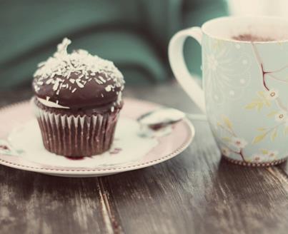 café com brigadeiro