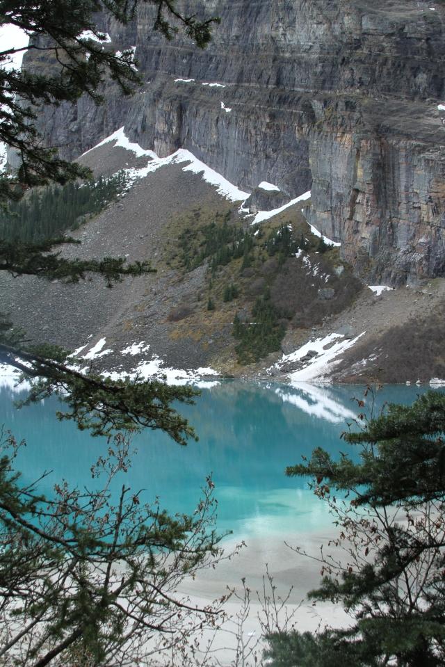 Lake Louise, Canadá. A paisagem refletida e invertida no lago. Inesquecível!!!!