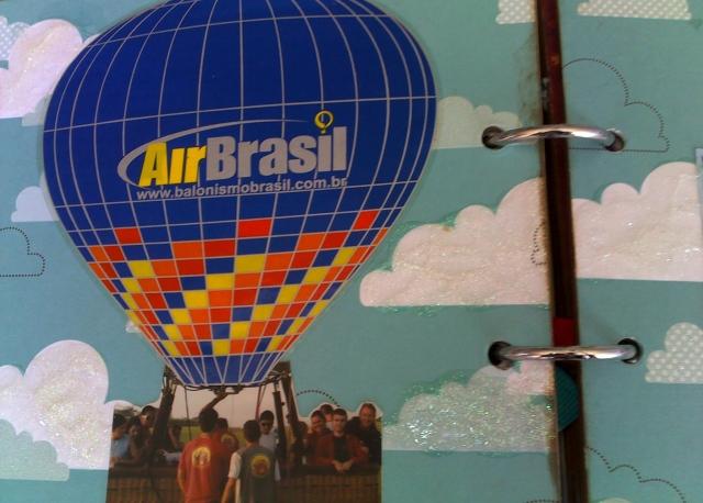 air brasil no cesto