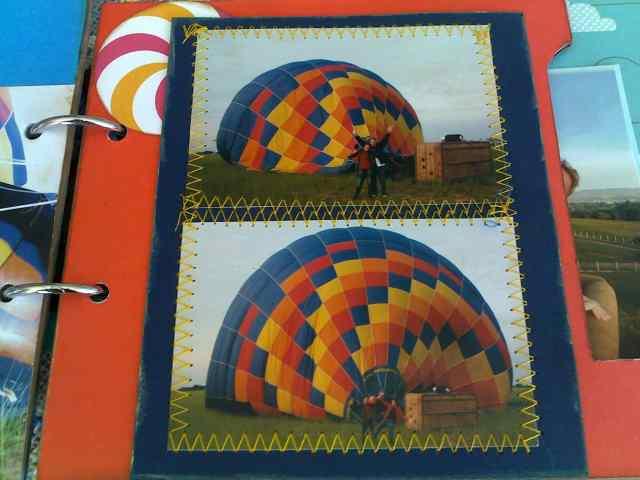 enchendo o balão