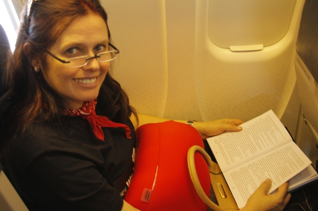 eu no avião 1
