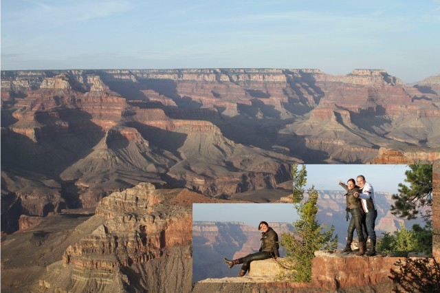 Grand Canyon montagem