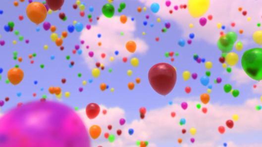 baloes ao ar