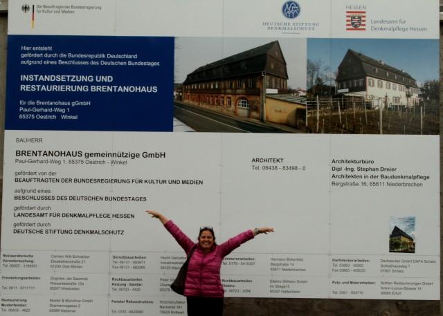 brentanohaus em processo de restauração