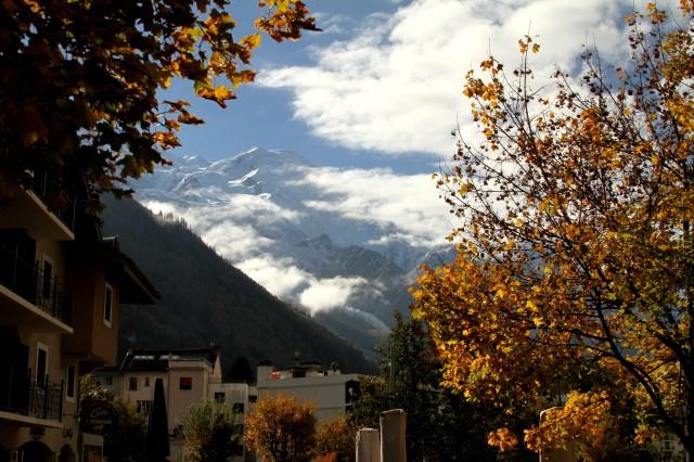 A belíssima Chamonix - França.
