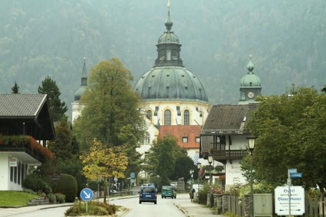 Outro palácio a caminho de Linderhof.