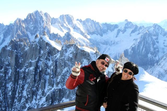 Mont Blanc. O topo do França.