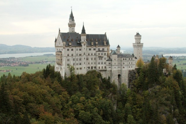 Castelo de Neuschwanstein.