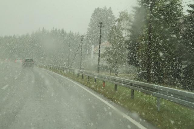 Uma nevasca memorável.