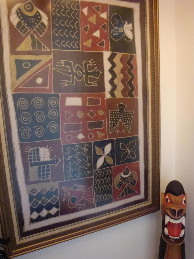quadro-de-tecido-africano