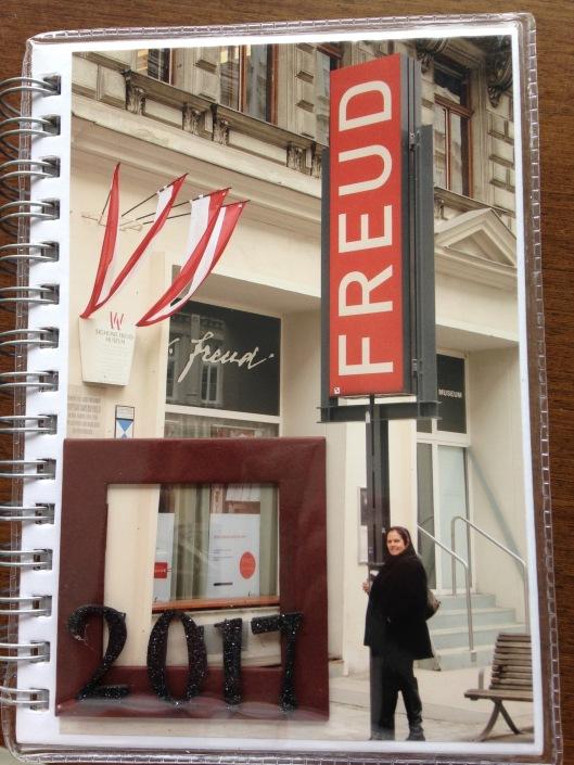 Entrada na casa /museu Freud em Viena