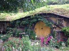 Hobbiton porta amarela
